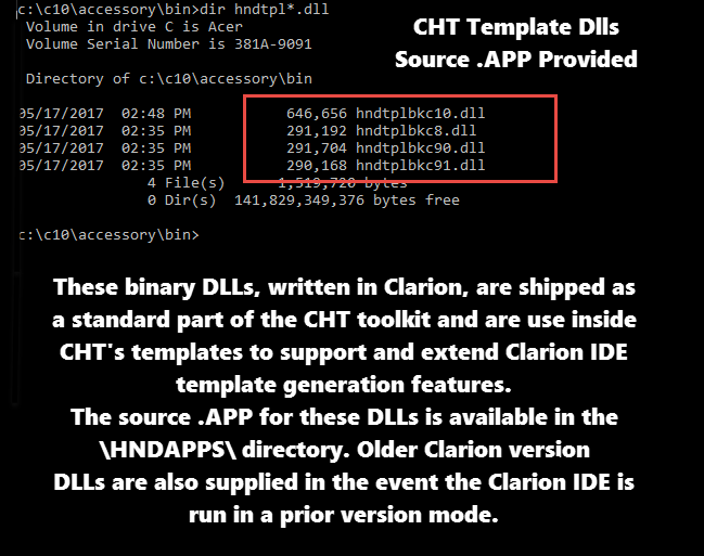 CHT (Clarion Handy Tools Page)